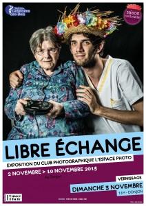 affiche expo libre echange nov 2013 R1